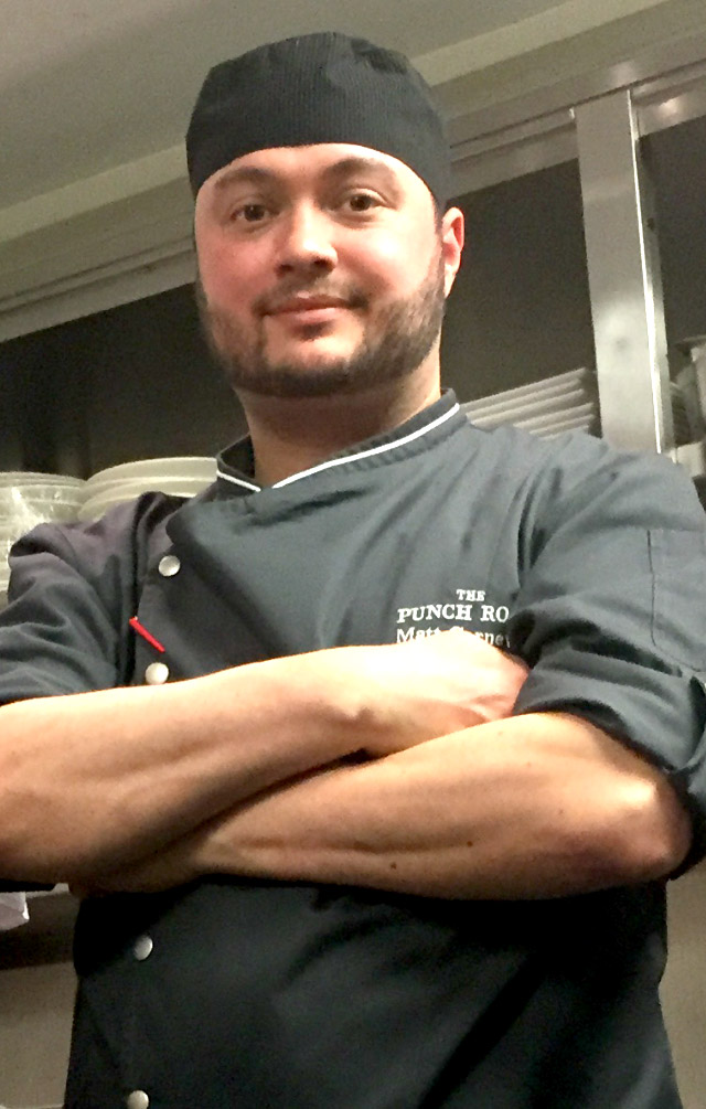 PCG Member Chef Matthew Carnevale of The Punch Room