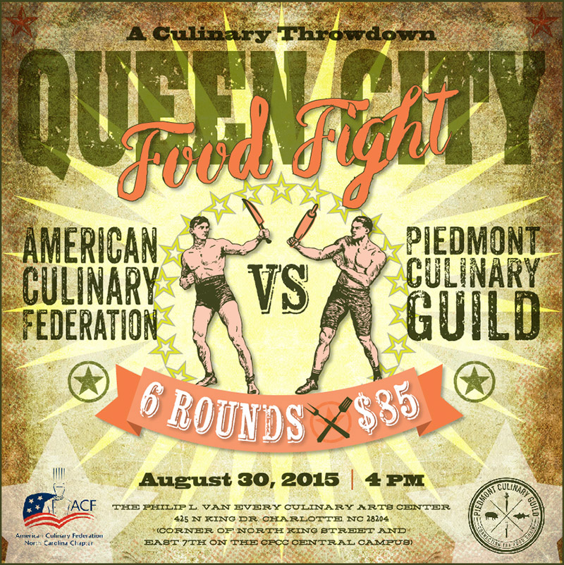 Queen City Food Fight - August 30 - CPCC