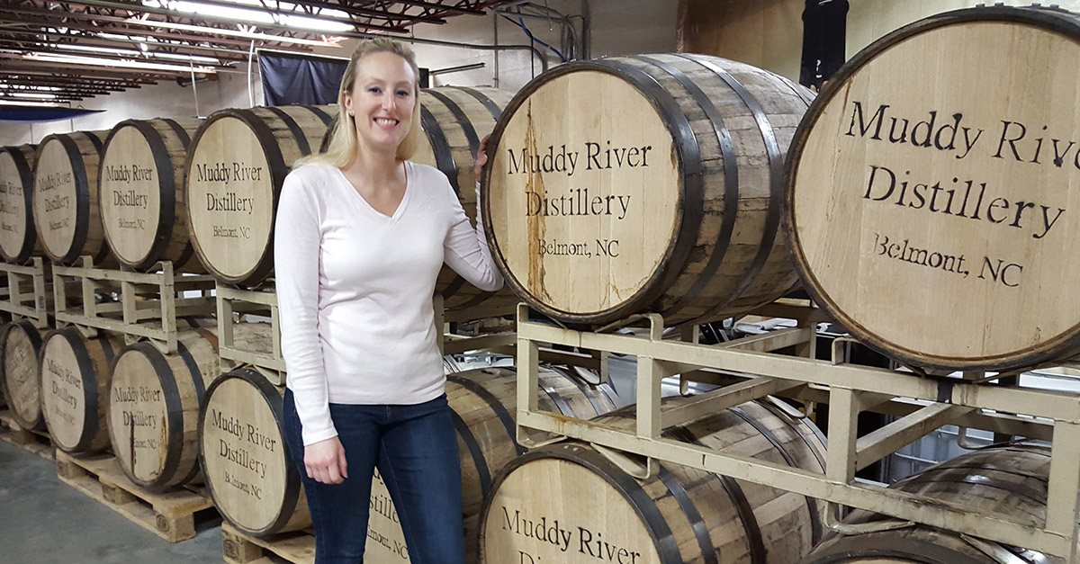 Caroline Delaney of Muddy River Distillery
