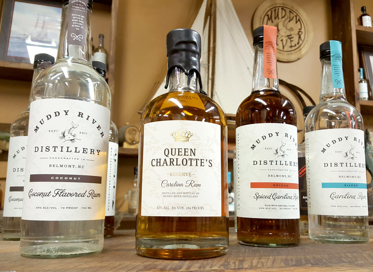 Muddy River Distillery Rums